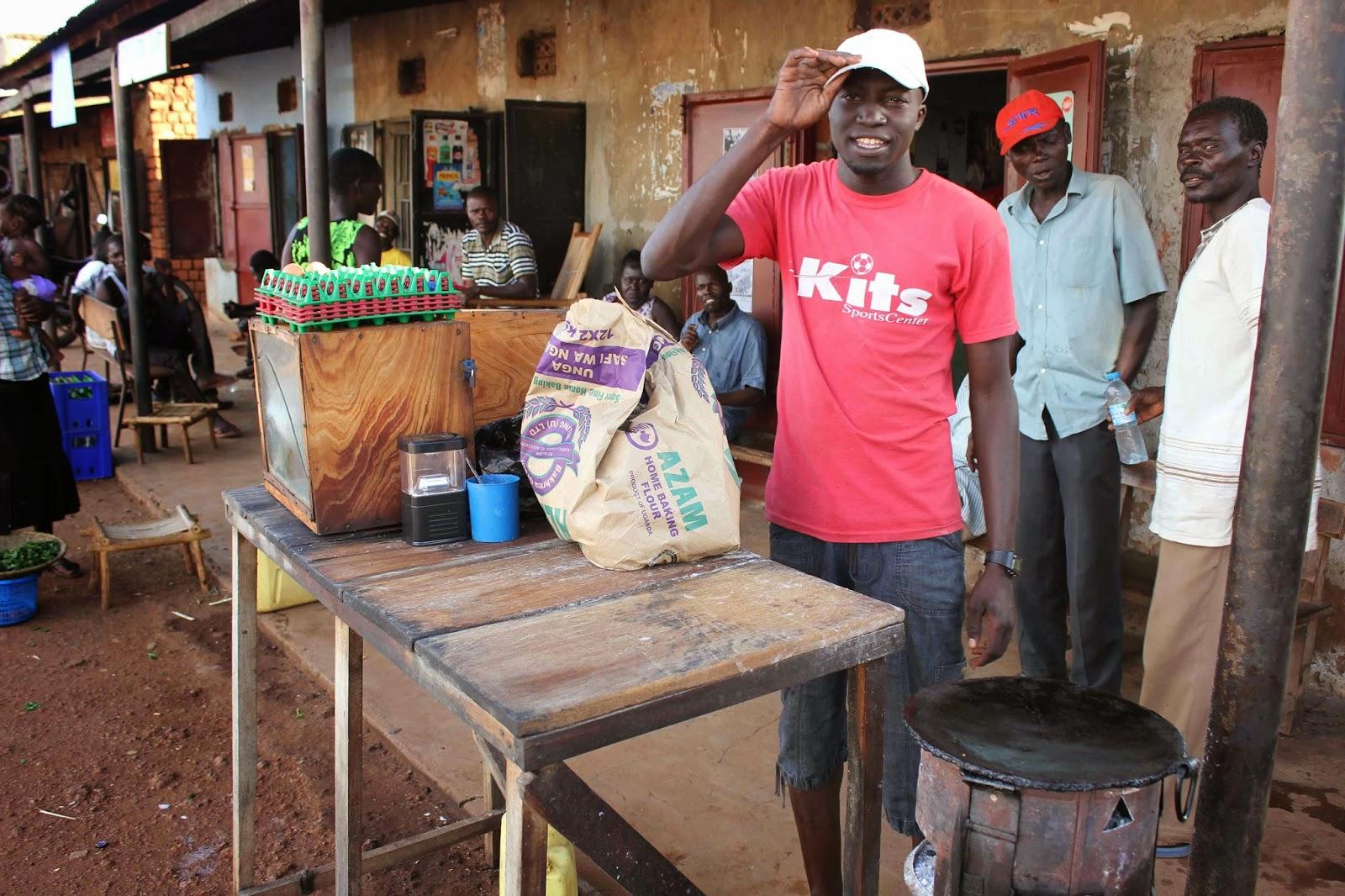 Enkel seger for museveni i uganda