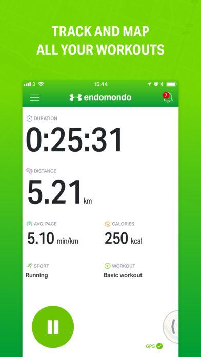 تحميل تطبيق ENDOMONDO برنامج للتمارين الرياضية والفتنس لحساب السعرات الحرارية للاندرويد والايفون مجانا