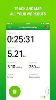 تحميل تطبيق ENDOMONDO برنامج للتمارين الرياضية والفتنس لحساب السعرات الحرارية للاندرويد والايفون مجانا 2018