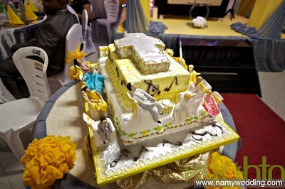 Pictures From Obiwon's Church Wedding & Reception. 14
