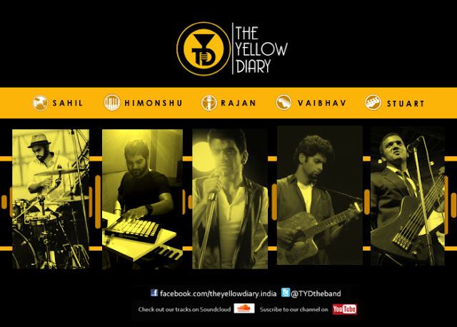 Sony Music India signs an exclusive recording & management deal with alt-rock band The Yellow Diary