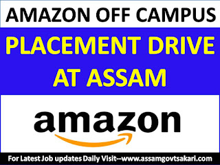 Amazon Off-Campus Placement Drive at Assam Down Town University,Guwahati