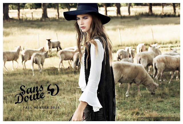 Sans Doute colección otoño invierno 2016. Moda otoño invierno 2016 Sans Doute.