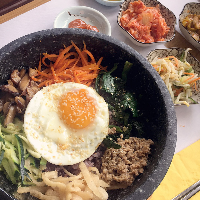 Babida - Delicious Korean Cuisine in the Heart of Vienna #Babida #BabidaVienna #BabidaWien #Korean #DolsotBibimbap # Bibimbap