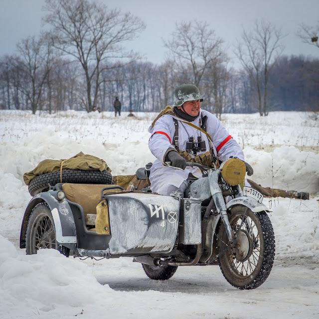 Реконструкция боя при Соколово 9.03.2018 - 42