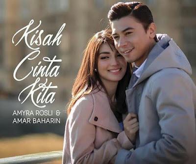 Lirik Lagu Kisah Cinta Kita Amyra Rosli ft. Amar Baharin