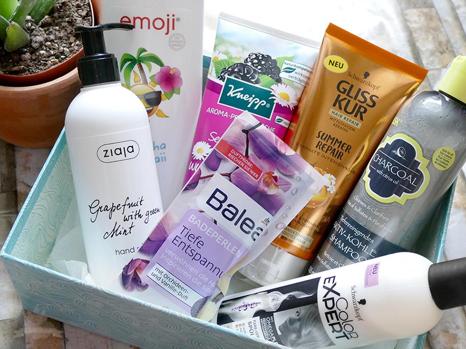 DM Box Schönes für Haut und Haar  Inhalt