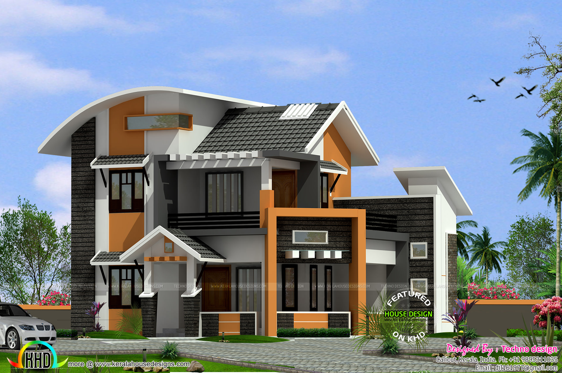 middle class family home plan kerala home design and On middle class house plans with photos