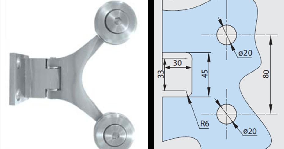 Tecnolog a y dise o herrajes y templados sistema spider for Muro cristal