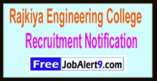 REC Rajkiya Engineering College Recruitment Notification 2017 Last Date 05-06-2017