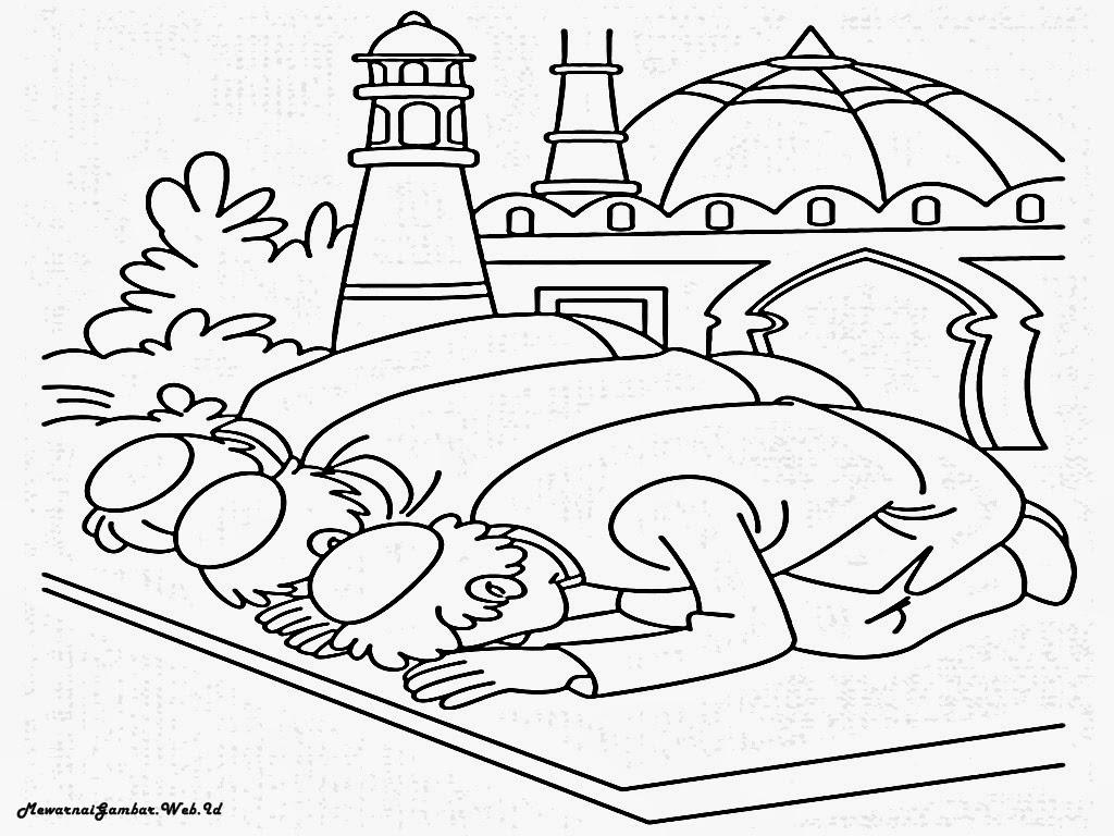 Mewarnai Gambar Tema Idul Adha