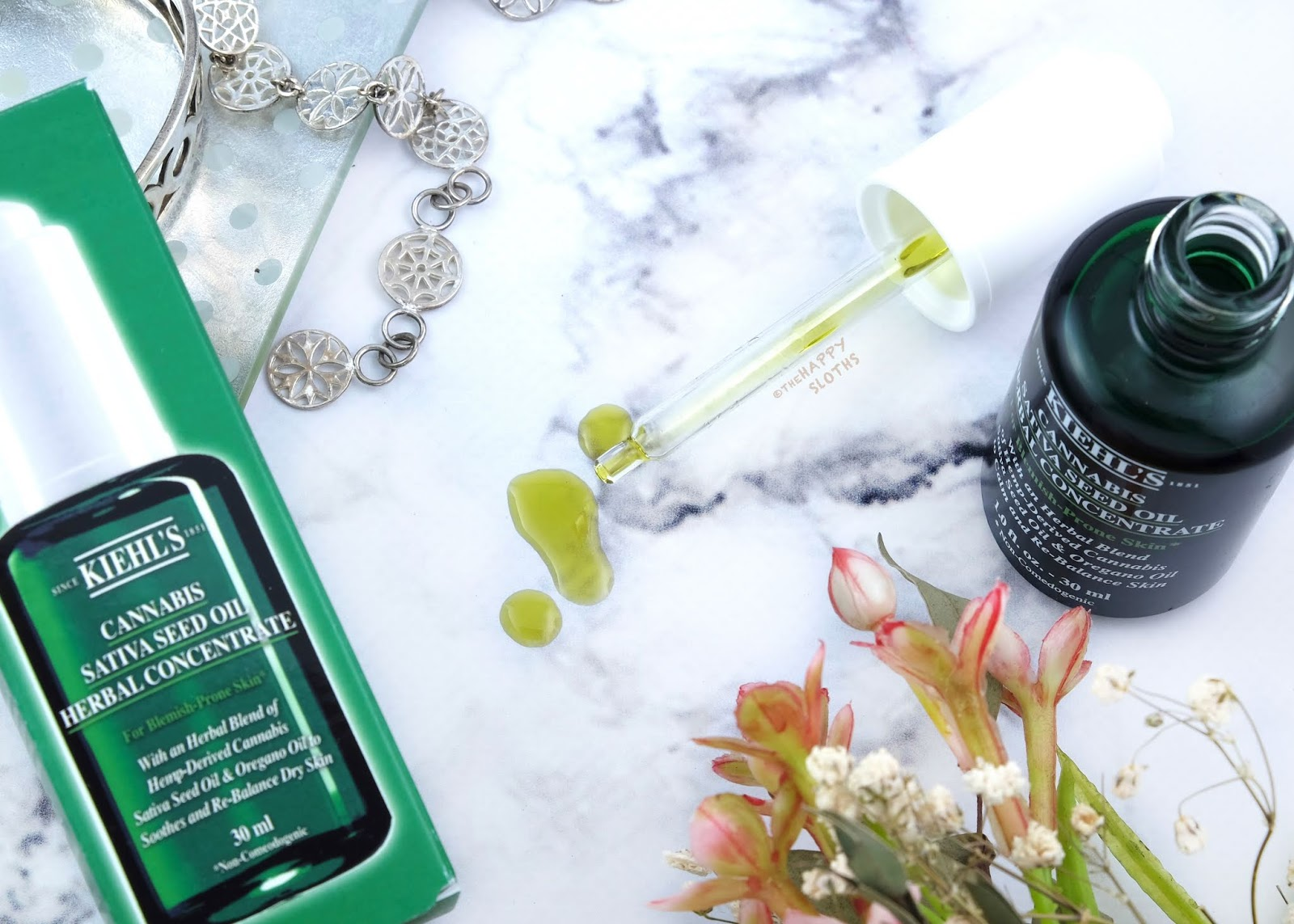 Kiehl's   Cannabis Sativa Seed Oil Herbal Concentrate: Review
