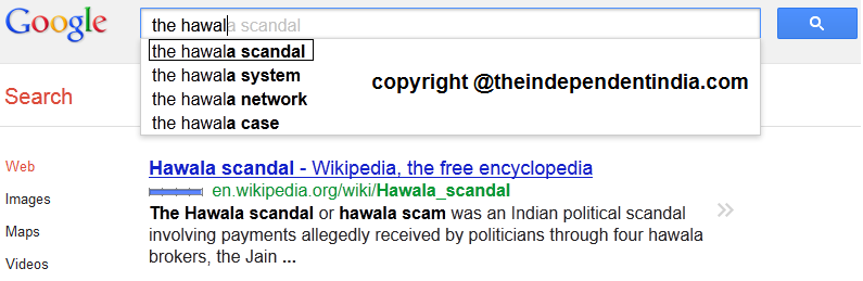 hawala scandal