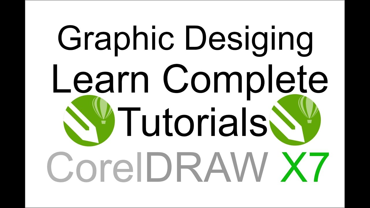 Corel Draw X7 Tutorials Complete Training Course Part 9 Polygon