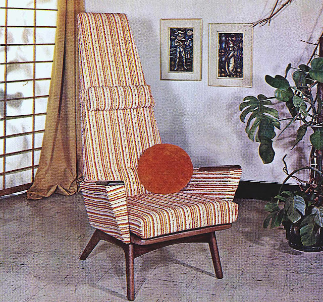an Adrian Pearsall mid-century chair photograph