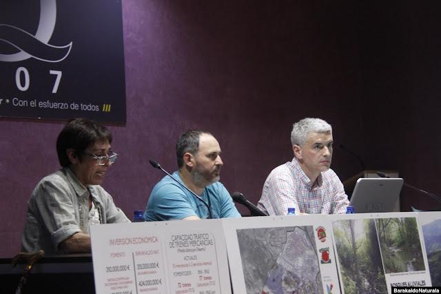 Presentación de las alternativas a la VSF por parte de Barakaldo Naturala