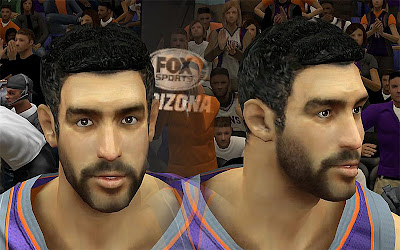 NBA 2K13 Hamed Haddadi Cyberface Patch