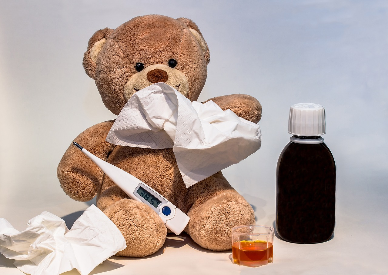 Przedszkole to nie szpital! Chore dziecko zostaw w domu!