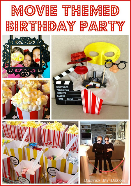 Including What We Did At The Party And Types Of Treats Favors Had For Inspiration In Hosting Your Own Movie Themed Birthday