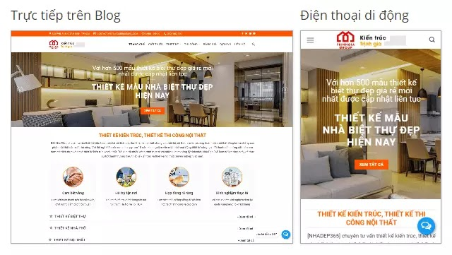 Theme blogspot thiết kế thi công nhà ở, nội thất