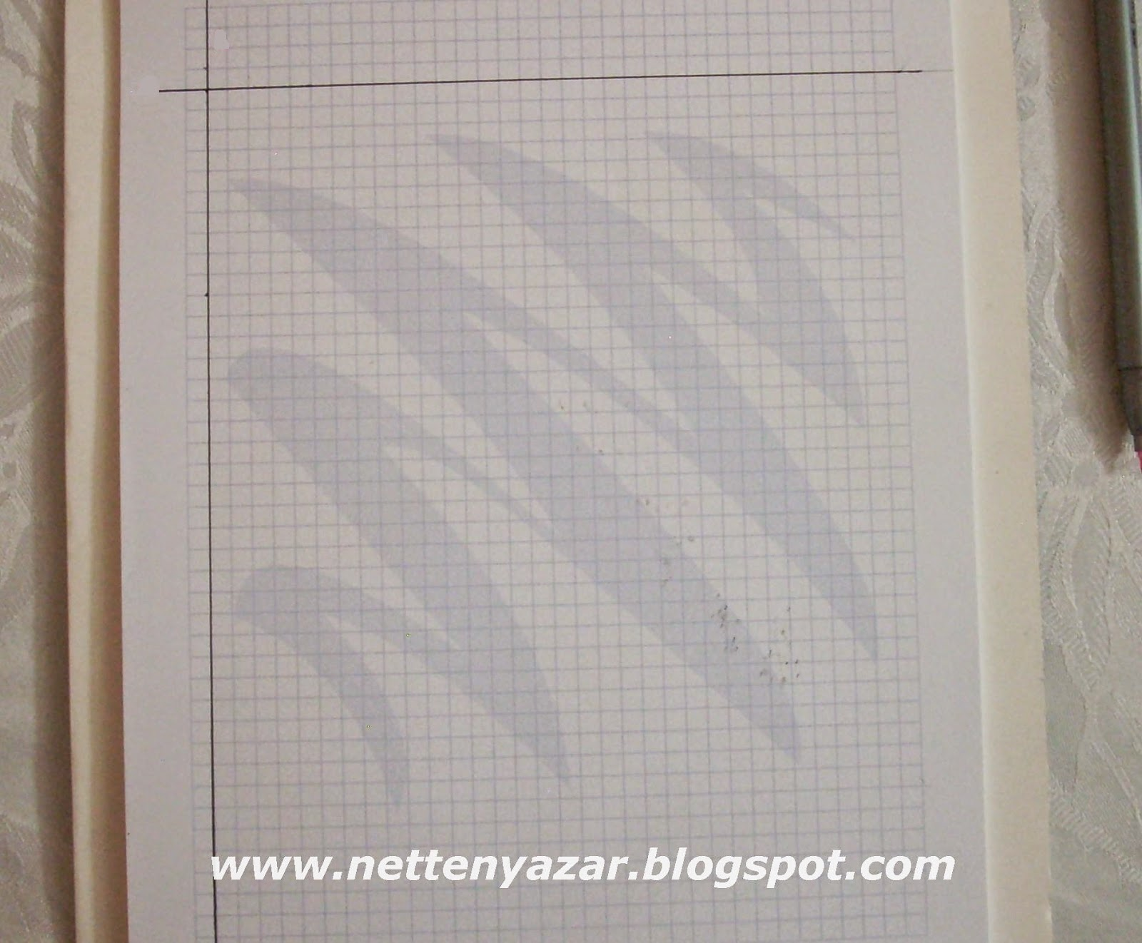 basic narrow skirt pattern Drawing