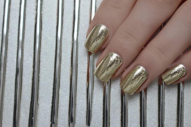 Indigo Metal Manix Effect Light Gold