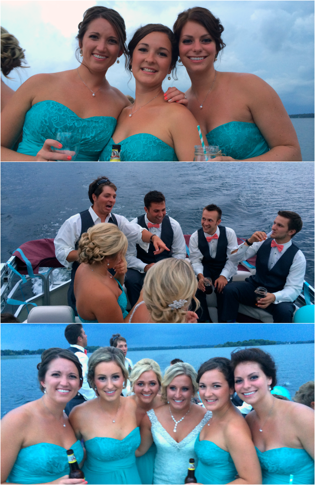 lake wedding, lake lizzie, #loveatlakelizzie, brother gets married, bridesmaids and groomsmen, use a pontoon for a party bus, having a lake wedding, minnesota wedding, august wedding, getting married in august at the lake, maid of honor, groom's dinner dresses, wedding dresses, bridesmaid dresses for a lake wedding, how-to have a lake wedding in minnesota, I'm getting married at the lake, minnesota weddings
