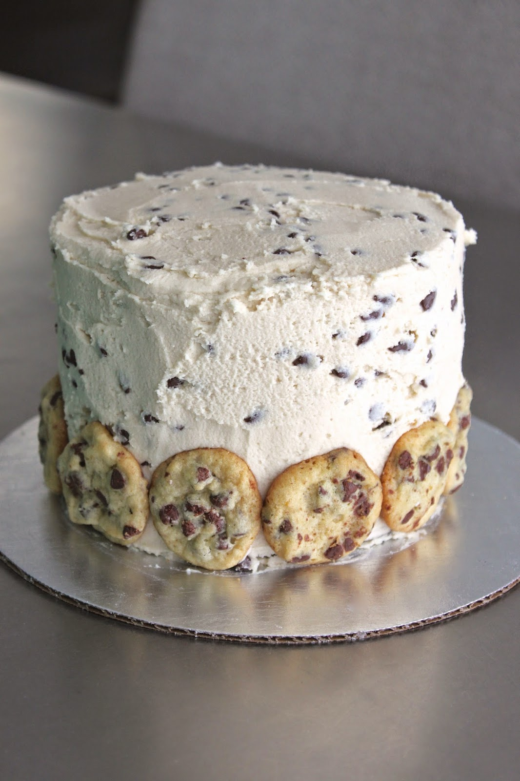 Baked Perfection Brown Sugar Cake With Cookie Dough Frosting