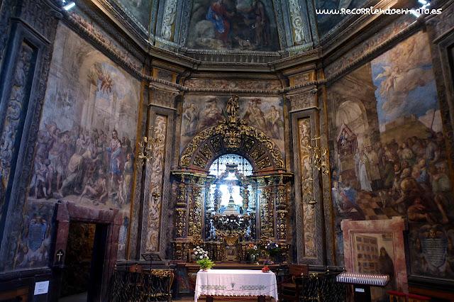 Pinturas al fresco ermita S. Saturio, Soria