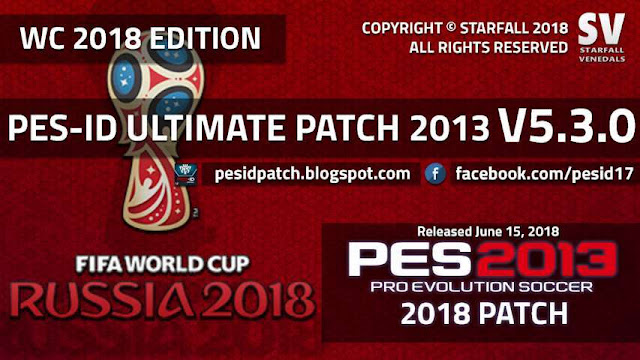 PES 2013 PES-ID Ultimate Patch V5.0