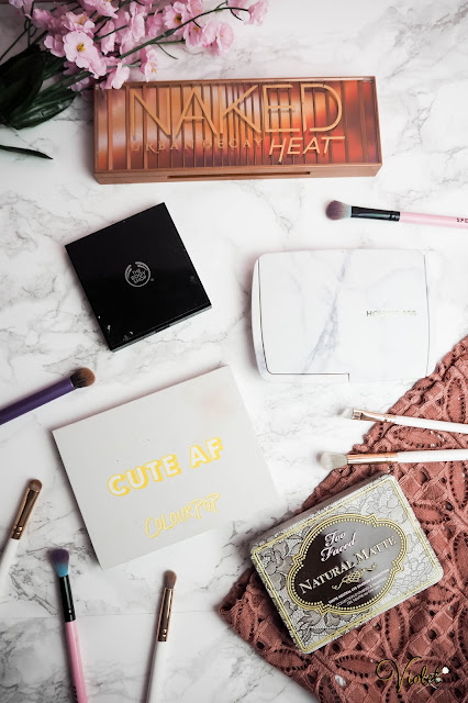 5 makeup palettes I couldn't live without