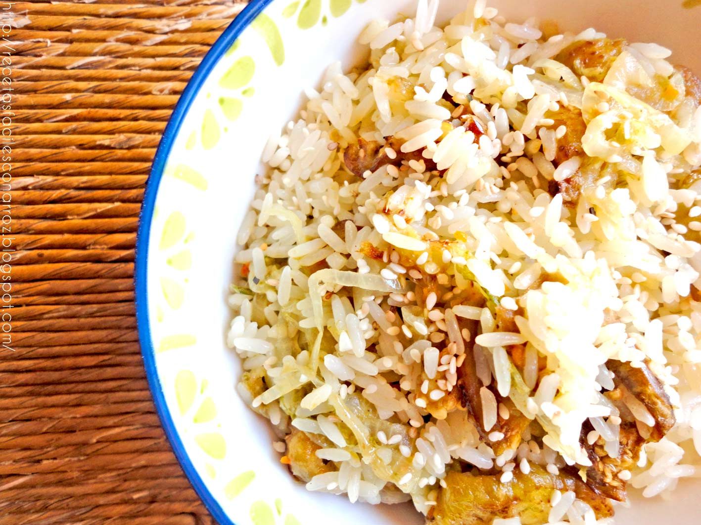 arroz con berenjenas