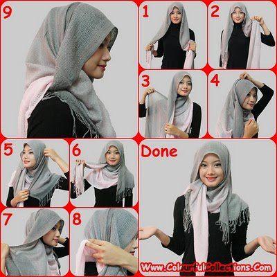 Tutorial Style Hijab Pashmina Untuk Santai