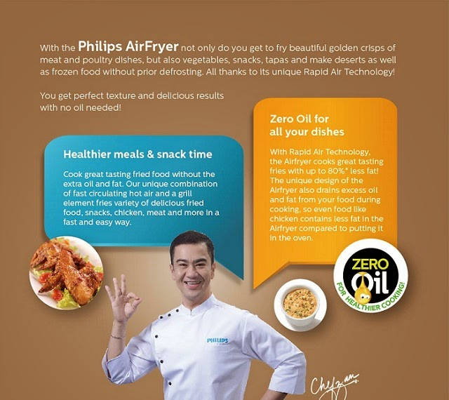 Make healthier meals and snack time, zero oil with the Philips Airfryer