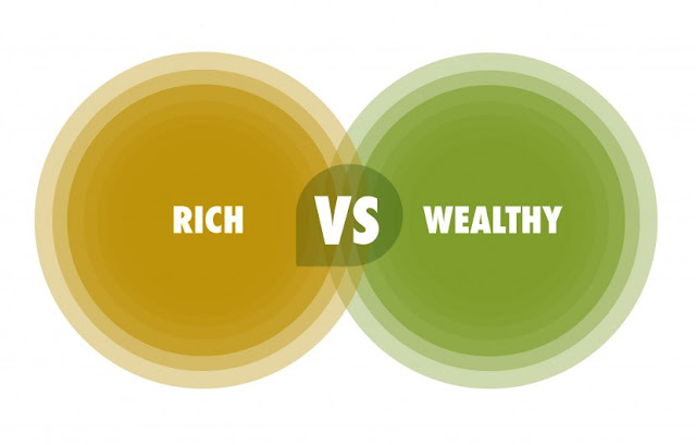 The Difference Between Being Rich and Being Wealthy