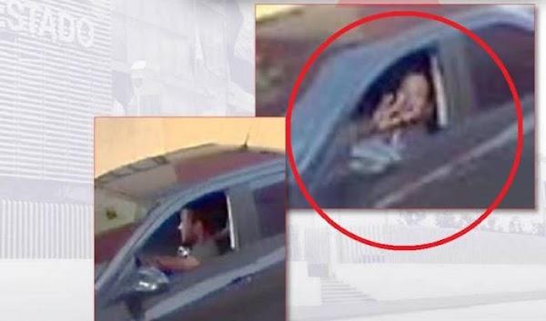 El extraño gesto del presunto asesino de Mara Castilla frente a la cámara de vigilancia del motel