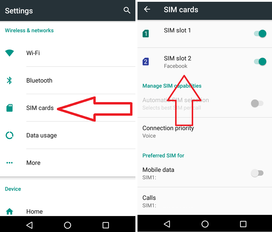 Learn New Things: How to Change SIM Name & Color in Android