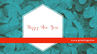 Send Happy New Year Greetings in English Language