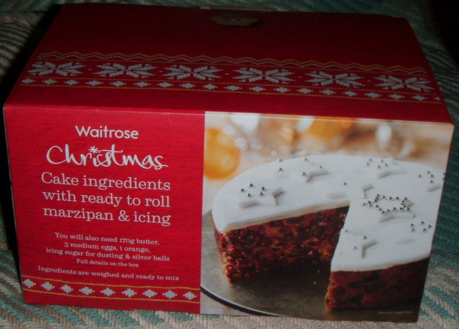 Sainsbury S Christmas Cake Kit