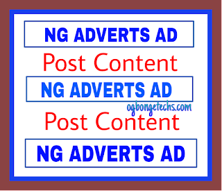How To Add Ngadverts Ad Code Inside Blogger Blog Post