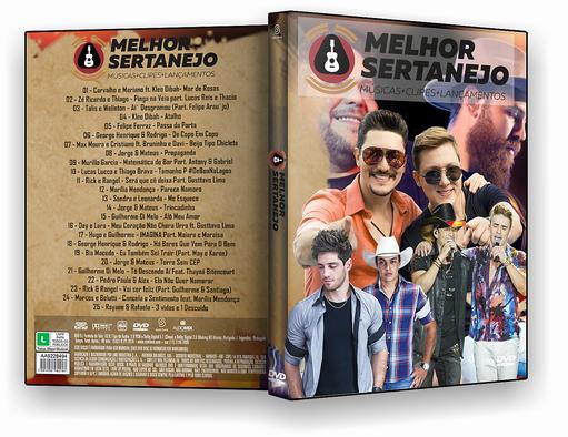 DVD-R MELHOR SERTANEJO – AUTORADO