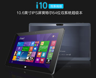 tablet dual boot Cube i10
