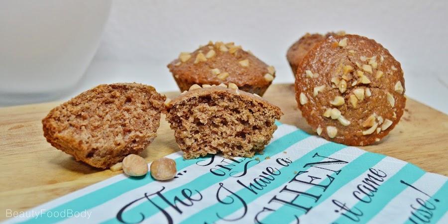 receta fit muffins espelta integral frutos secos fitness healthy