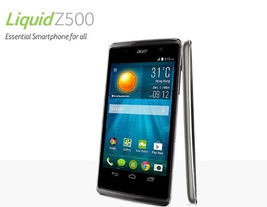 Harga HP Acer Liquid Z500 Tahun Ini Lengkap Dengan Spesifikasi Ram 1 GB Harga 1 Jutaan