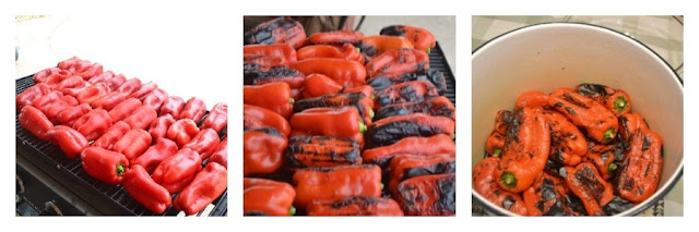 make roasted red peppers