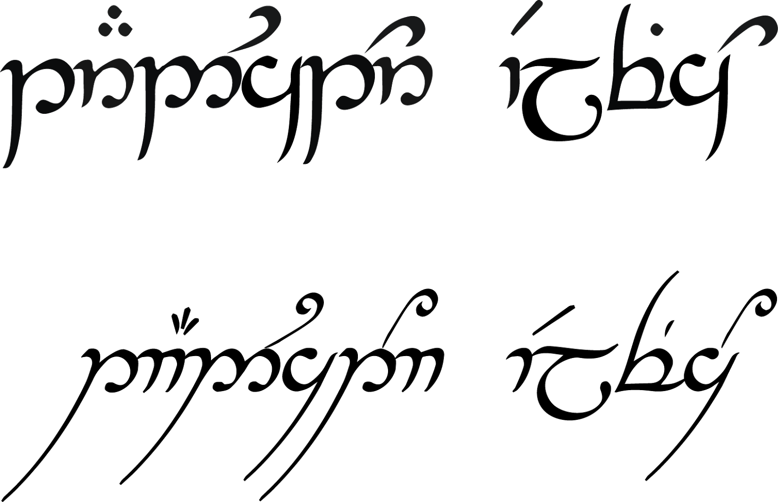 Quenya Elvish Translator Traductor Elfico Toda La