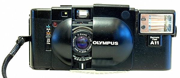 Olympus XA, A 35mm Capsule Rangefinder