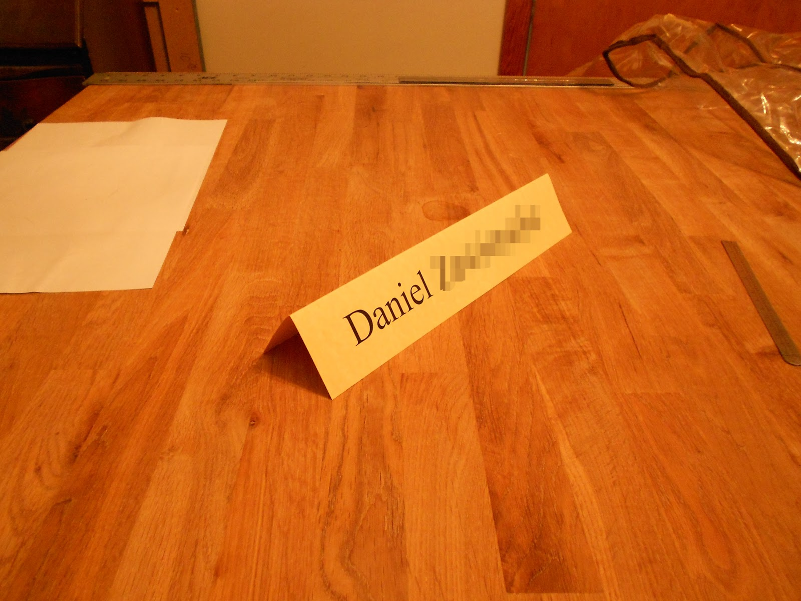 sewing adventures folding fabric nameplate