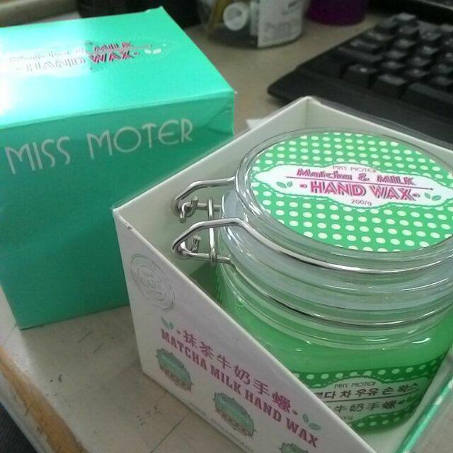 Miss Moter Matcha Milk Hand Wax
