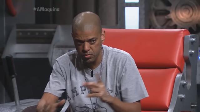 "KL JAY é entrevistado no programa ""A Máquina"" da TV GAZETA"